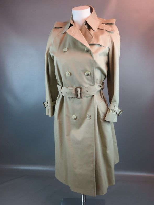 mch burberry mantel trenchcoat damen beige ebay. Black Bedroom Furniture Sets. Home Design Ideas
