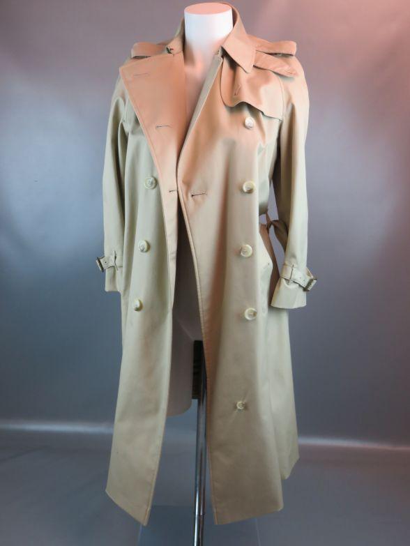 mch burberry mantel trenchcoat damen beige ebay. Black Bedroom Furniture Sets. Home Design Ideas