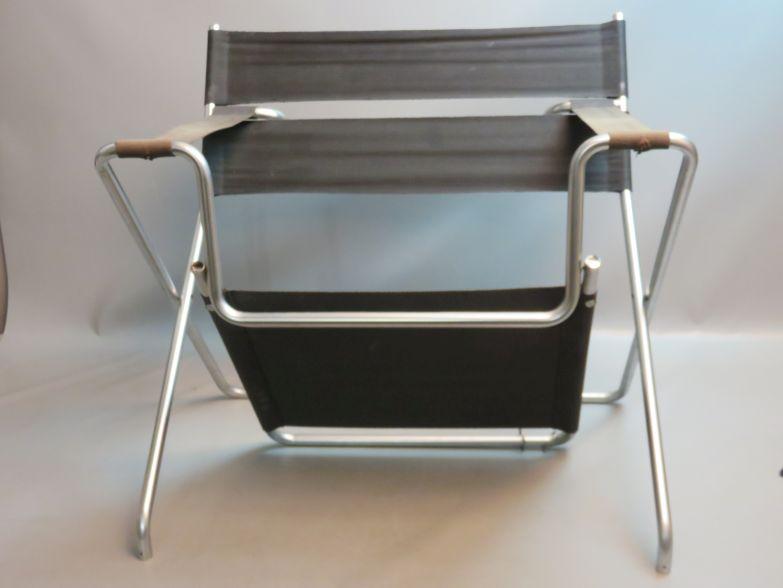 vintage designer klappstuhl bauhaus design marcel breuer model b4 1926 1927 ebay. Black Bedroom Furniture Sets. Home Design Ideas