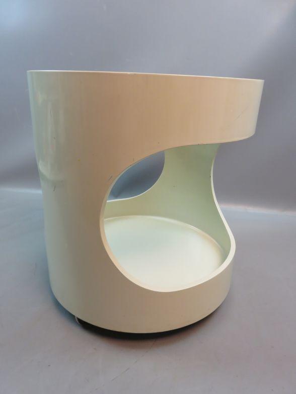 Space age 60er 70er jahre designklassiker opal for Beistelltisch 70er