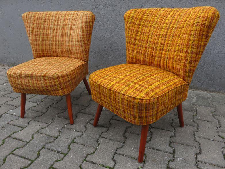 2 cocktail sessel 50er mid century rockabilly cocktailsessel chair 50 s ddr. Black Bedroom Furniture Sets. Home Design Ideas
