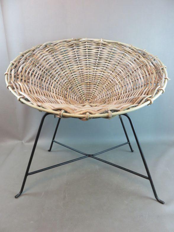 rattan stuhl bloomingville design flechtstuhl ebay. Black Bedroom Furniture Sets. Home Design Ideas