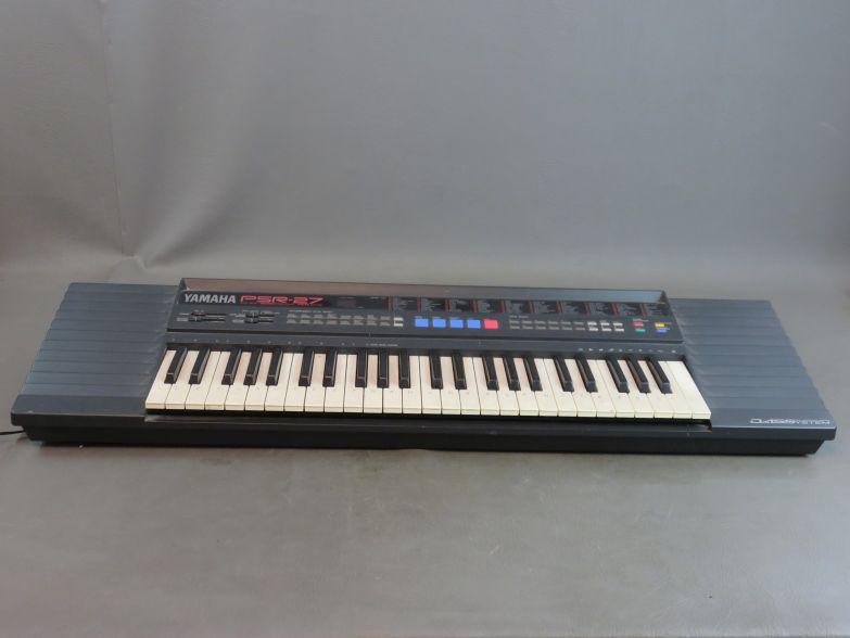 yamaha psr 27 keyboard ebay. Black Bedroom Furniture Sets. Home Design Ideas